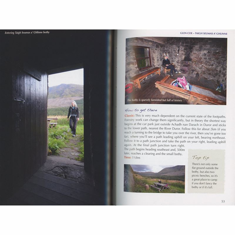 The Book of the Bothy pages