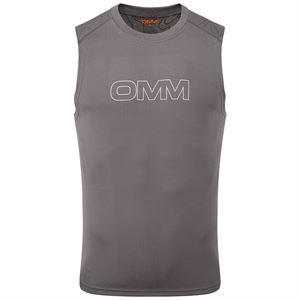 OMM Men's Flow Singlet Grey