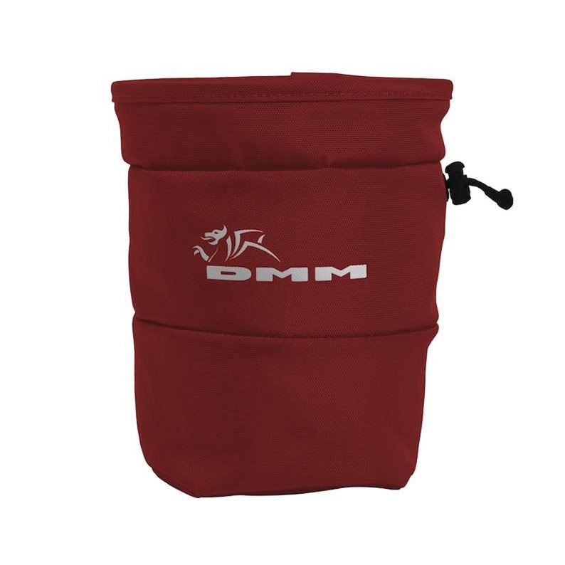 DMM Tube Chalk Bag Red