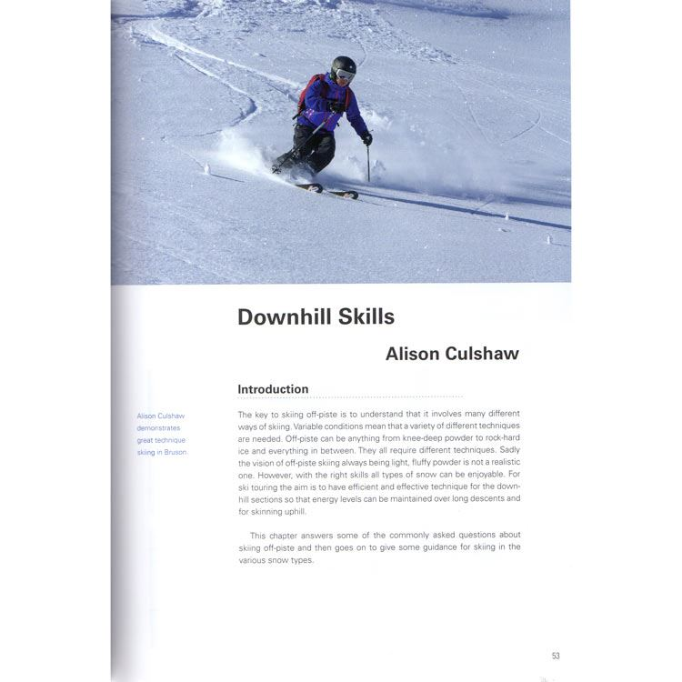 Ski Touring - A Practical Manual page