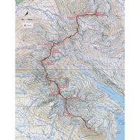 Skye's Cuillin Ridge Traverse Part 2 Map