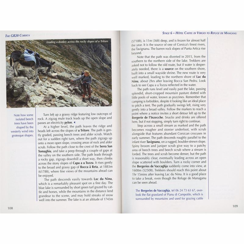 The GR20 Corsica pages