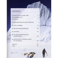 Mountaineering - The Essential Skills for Mountain Walkers contents