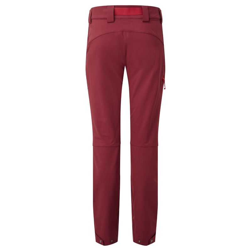 Rab Women's Vector Pants Dark Crimson