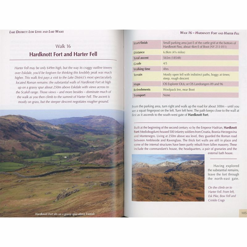 Lake District Low and Lake Level Walks pages