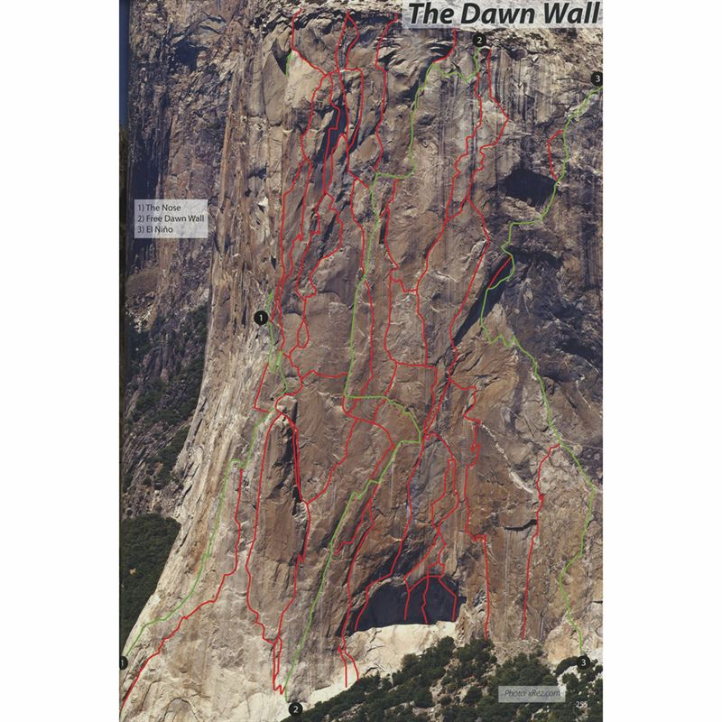 Rock Climbing - Yosemite Valley pages