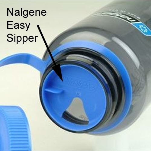 Nalgene Easy Sipper in situ