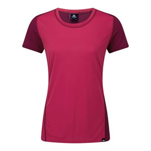 Mountain Equipment Women's Lumen Tee Virtual Pink Cranberry