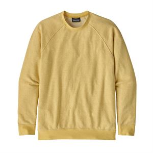 Patagonia Men's Trail Harbor Crewneck Sweatshirt Long Plains: Surfboard Yellow/Resin Yellow