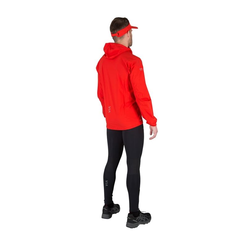 Montane Men's Long Trail Tights Black in use