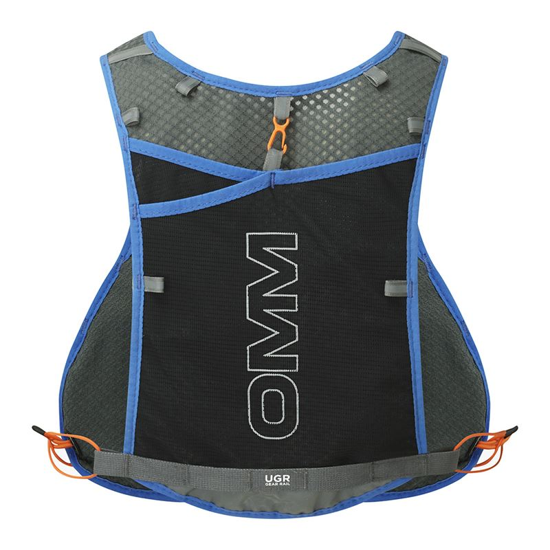 OMM Trailfire Vest Blue back