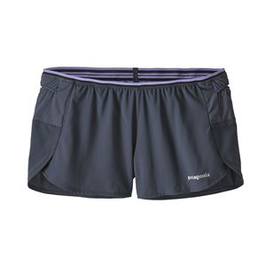 "Patagonia Women's Strider Pro Running Shorts 3"" Smolder Blue"