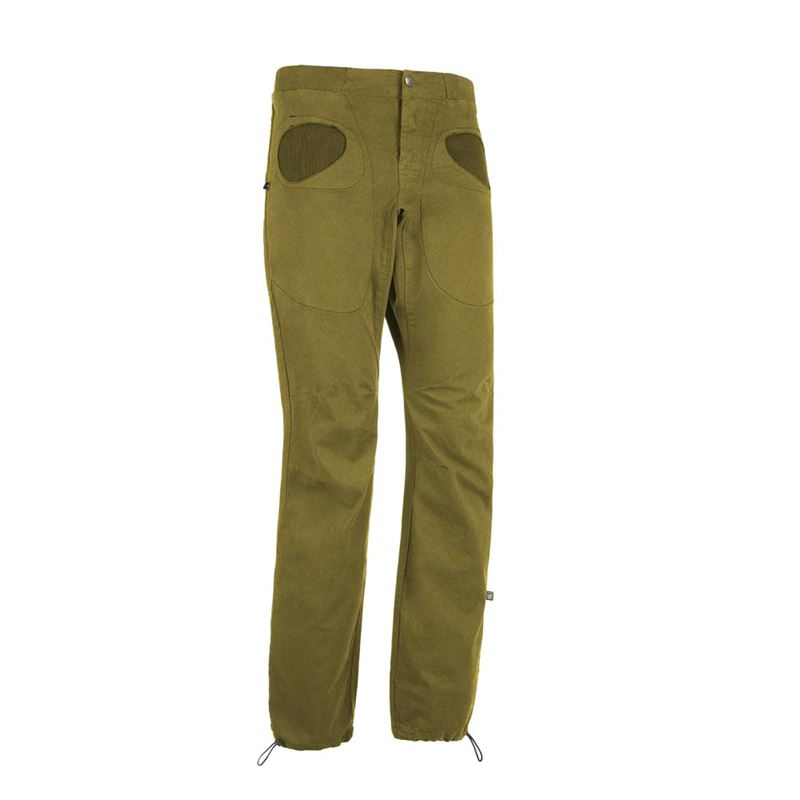 E9 Men's Rondo Slim Trousers Pistachio