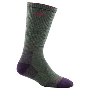 Darn Tough Women's Hike/Trek Boot Sock Full Cushion 1907 Moss Heather