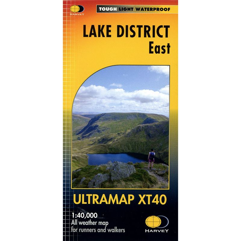 Harvey Ultramap XT40 - Lake District East