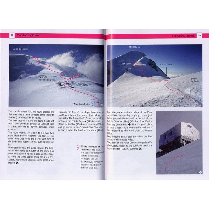 Mont Blanc 4810m pages