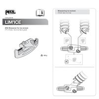 Petzl LimIce Ice Screw Sharpener instructions