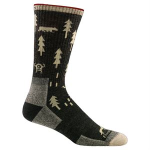 Darn Tough Men's ABC Boot Sock 1964 Black
