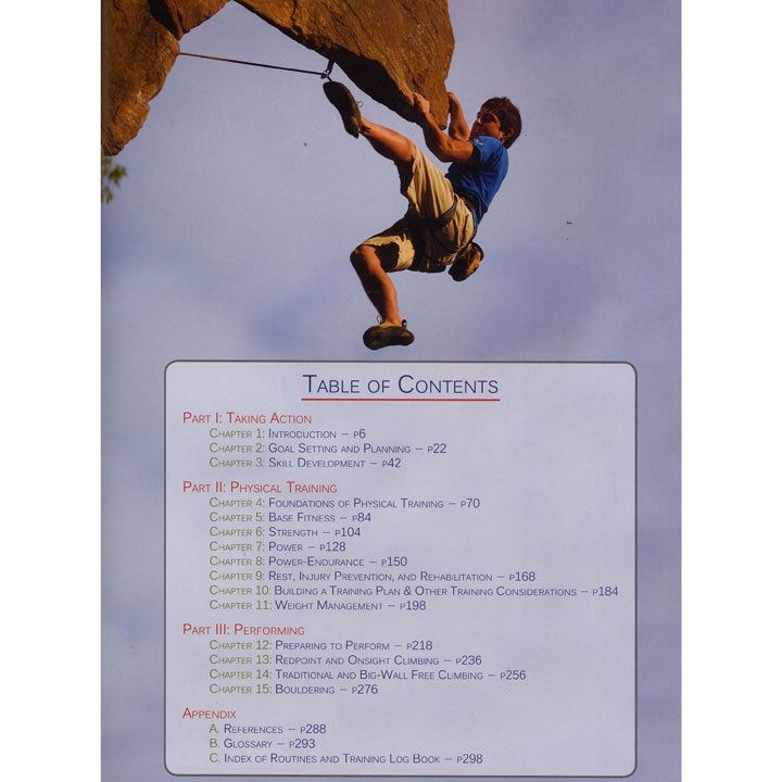 The Rock Climber's Training Manual pages