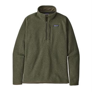 Patagonia Men's Better Sweater 1/4-Zip Fleece Industrial Green