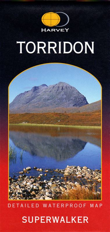 Harvey  Superwalker Map -Torridon 1:25,000