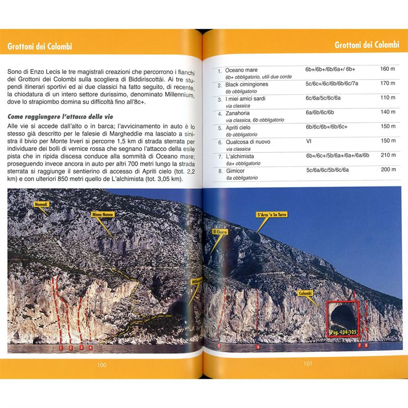 Arrampicare a Cala Gonone pages