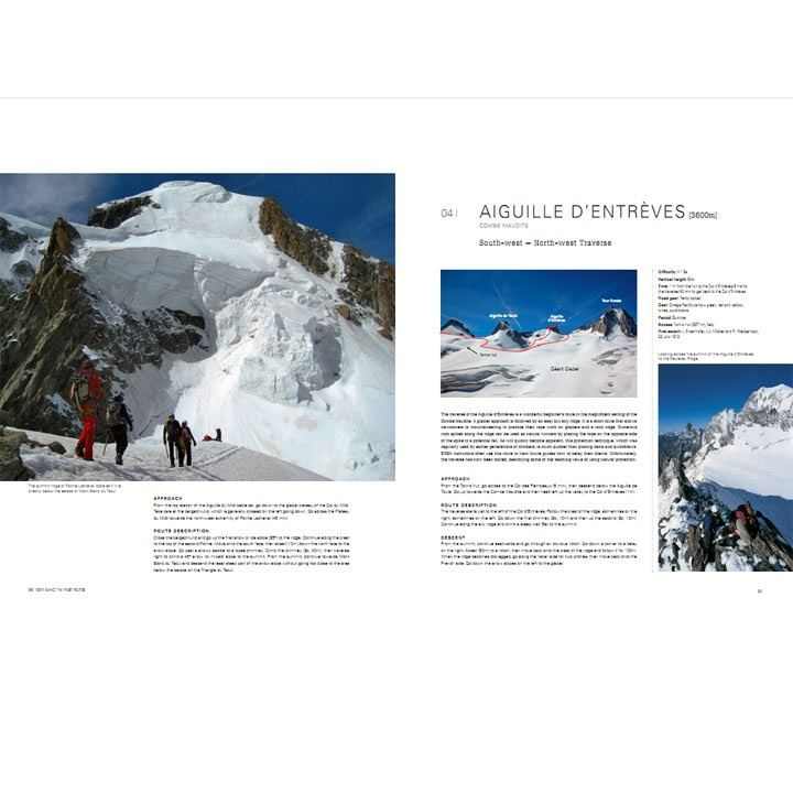 Mont Blanc - The Finest Routes pages