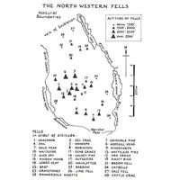 Wainwright - Book 6: The North Western Fells coverage