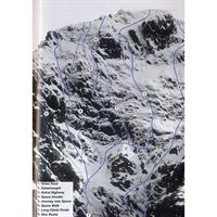 Ben Nevis Winter Climbs diagram