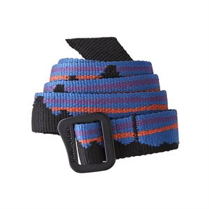 Patagonia Friction Belt Fitz Roy Belt: Black
