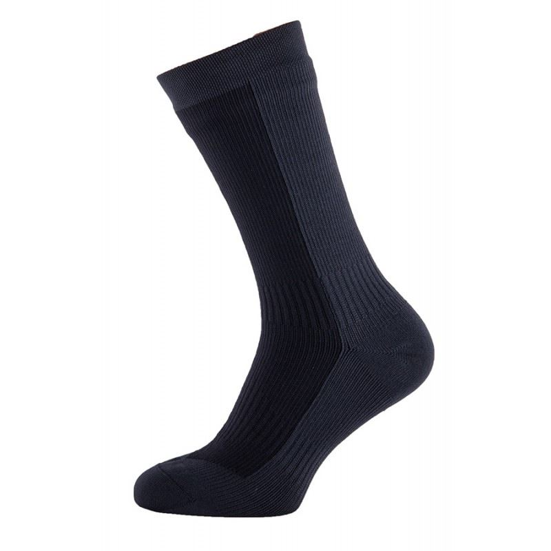 Sealskinz Hiking Mid Mid Waterproof Sock Black
