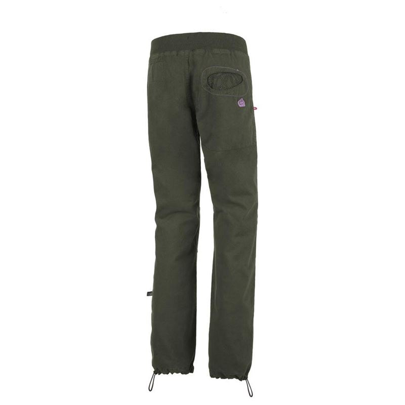 E9 Women's Onda Slim Trousers Musk