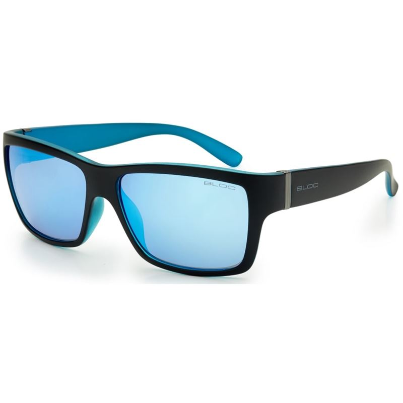 Bloc Riser XB1 Matt Black/Blue with Blue Mirror Lenses
