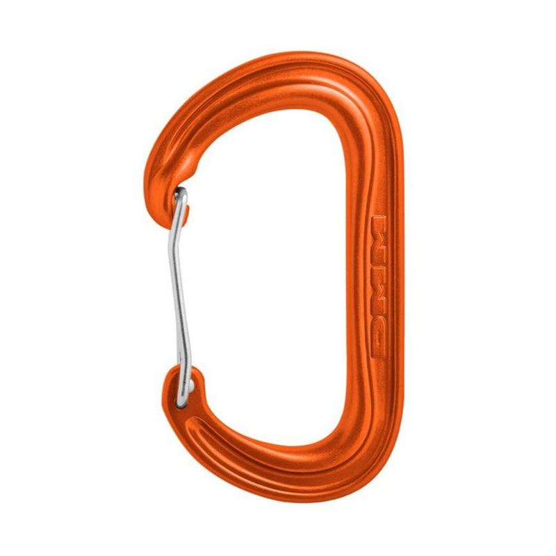 DMM WallDO Oval Wiregate Karabiner Orange