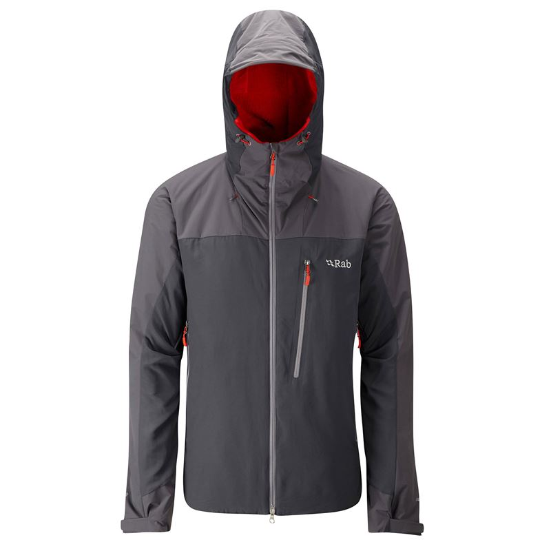 Rab Men's Vapour-Rise Guide Jacket Dark Shark
