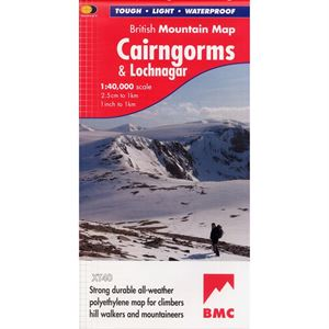 BMC Waterproof Mountain Map - Cairngorms & Lochnagar