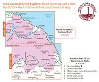 OS OL27 North York Moors - Eastern Area coverage