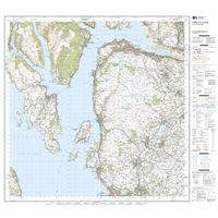 OS Landranger 63 Paper - Firth of Clyde sheet