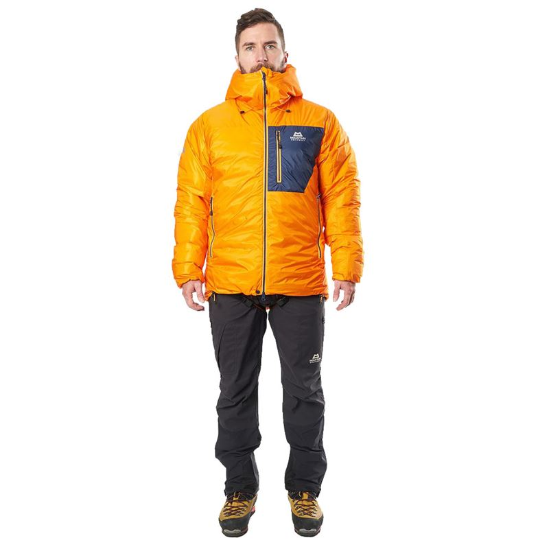 Mountain Equipment Men's Xeros Jacket Mango/Medieval Blue