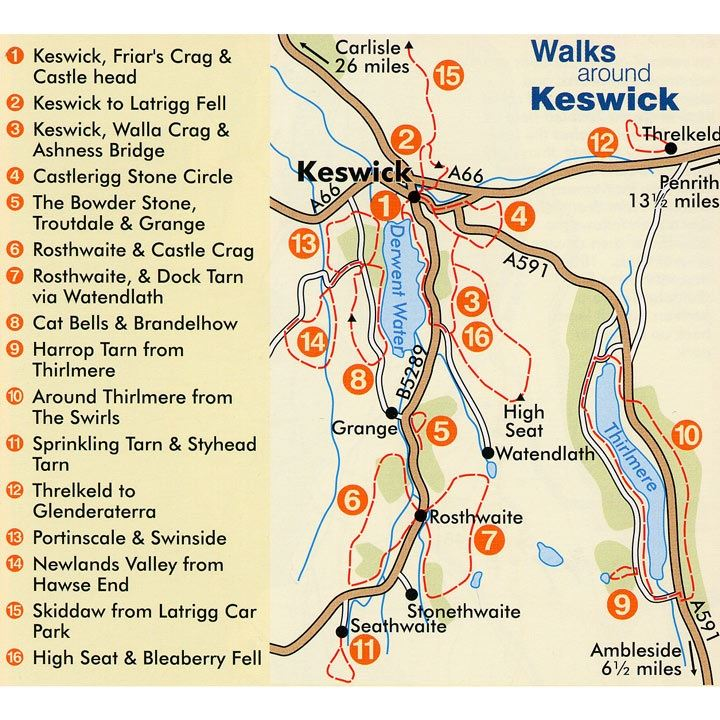 Walks Around Keswick coverage