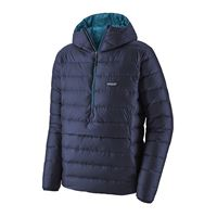 Patagonia Men's Down Sweater Hoody Pullover Classic Navy