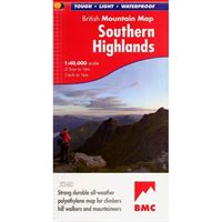 BMC Waterproof Mountain Map - Southern Highlands