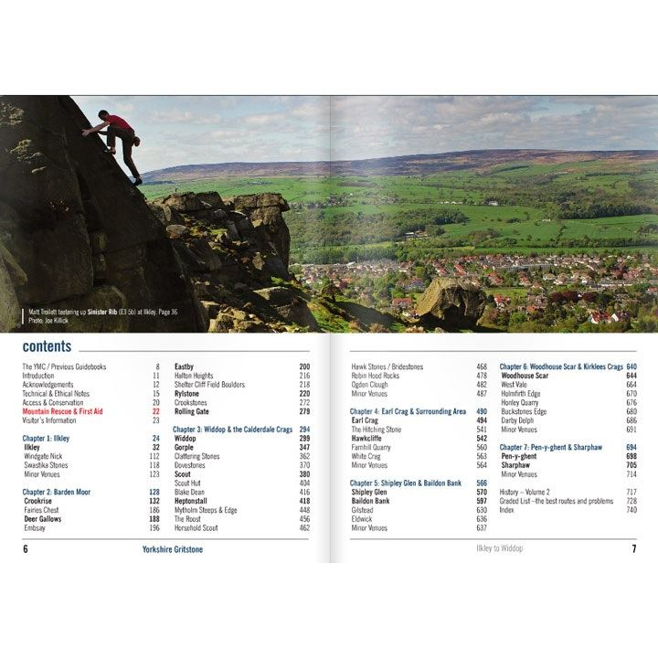Yorkshire Gritstone Volume 2 contents