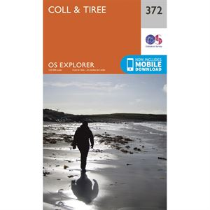 OS Explorer 372 Paper - Coll & Tiree