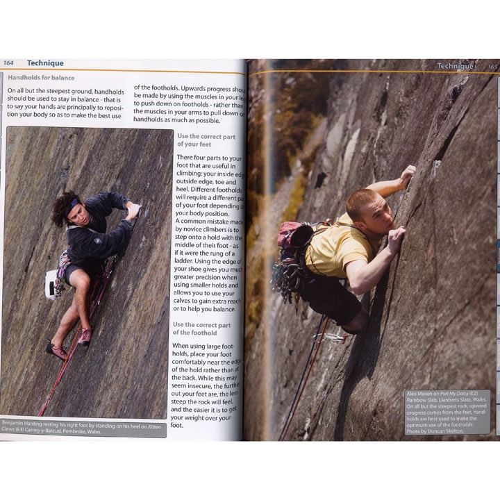 Trad Climbing + pages
