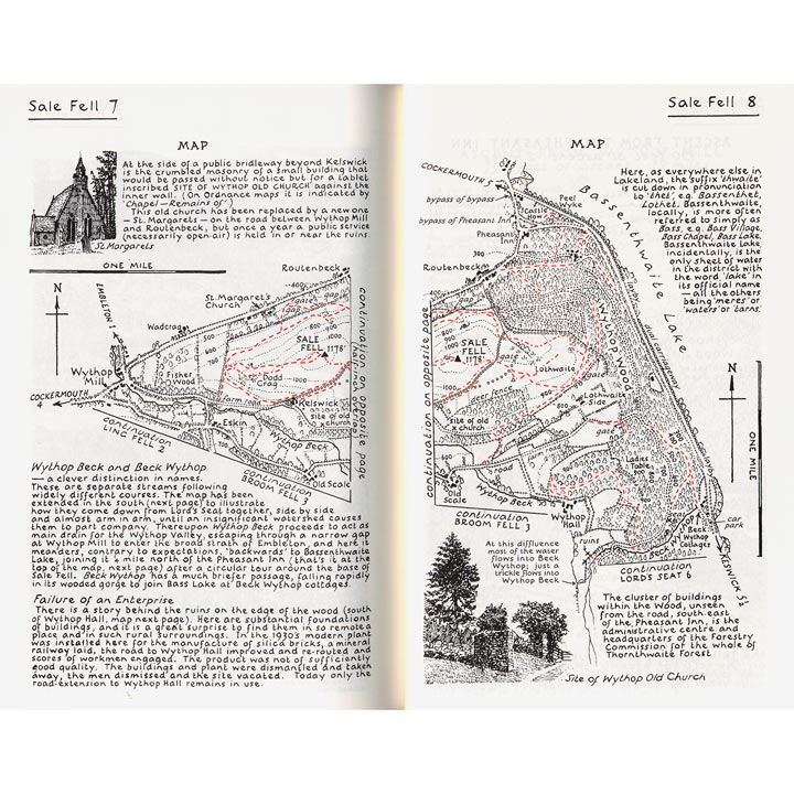 Wainwright - Book 6: The North Western Fells pages