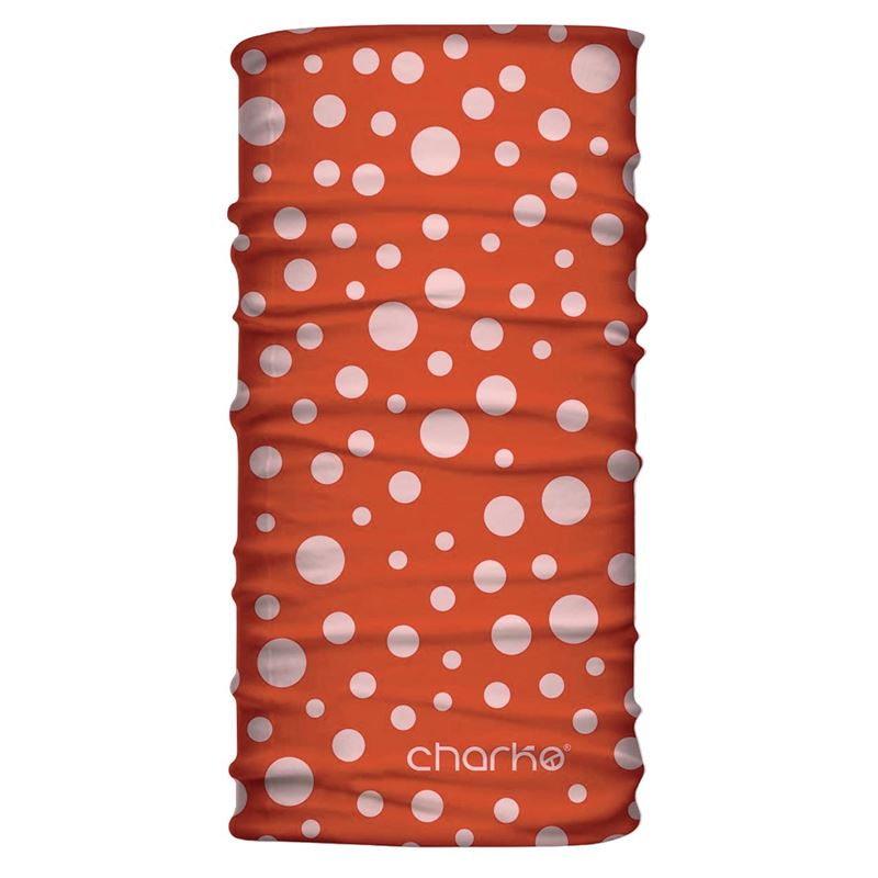 Charko Tubular Neck Warmer Amanita Orange-Red