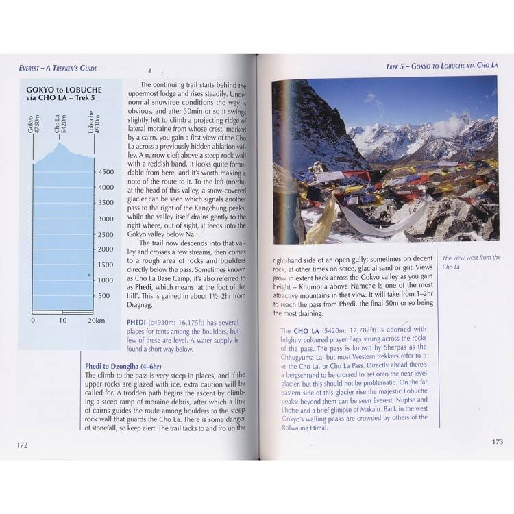 Everest - a Trekker's Guide pages